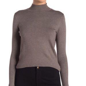 Philosophy Mock Neck Long Sleeve Sweater